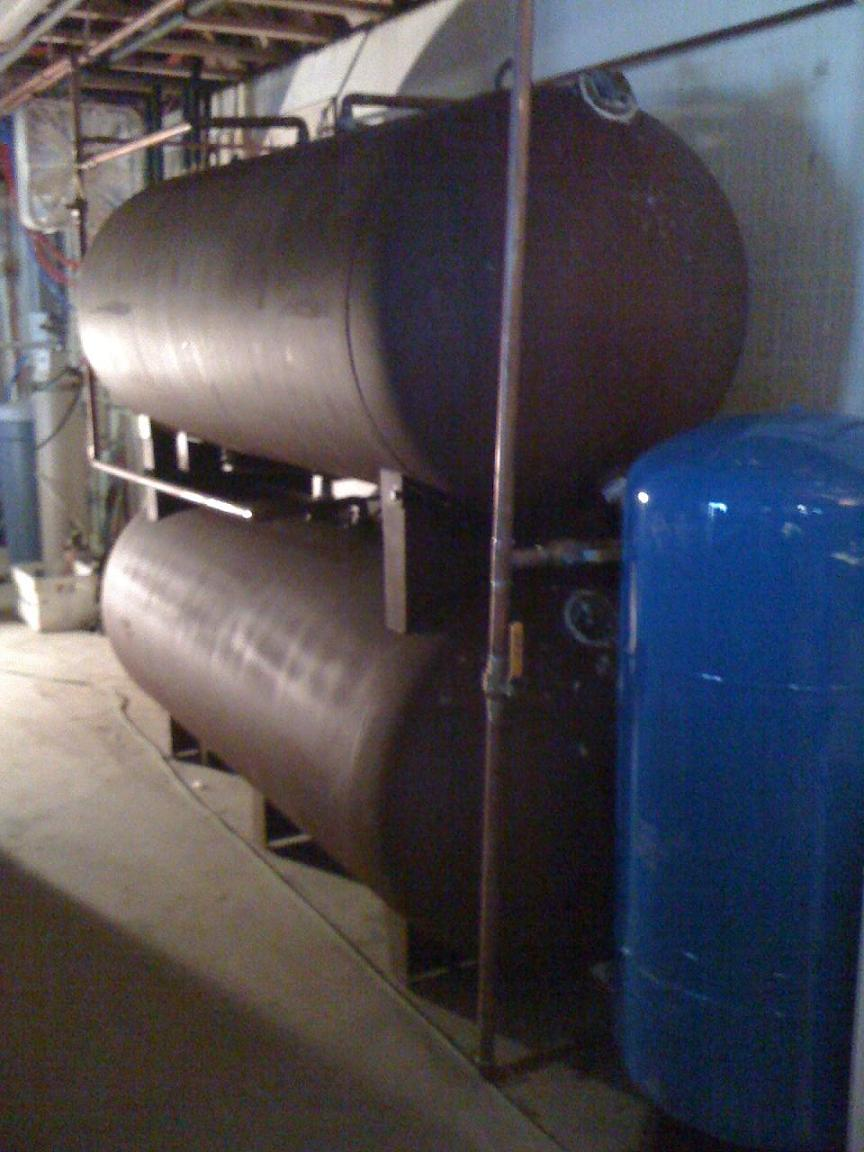 Diy Propane Tank For Heat Storage
